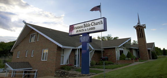 Front of Branson Bible Church