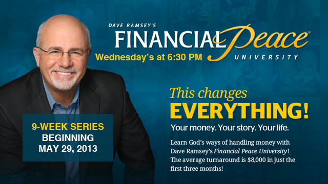 Dave Ramsey&#39;s financial peace seminars