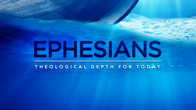 home page title slide for series in Ephesians